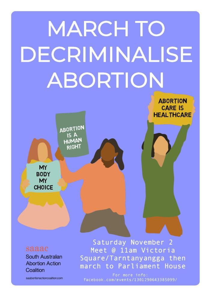 March to Decriminalise Abortion