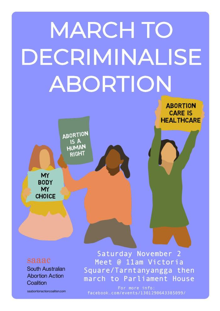 March to Decriminalise Abortion